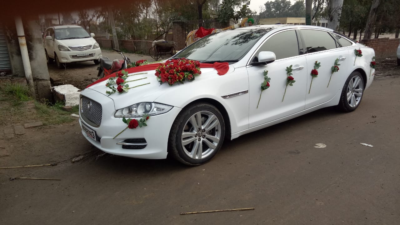 JAGUAR  XJL MOST FAVORITE WEDDING CAR